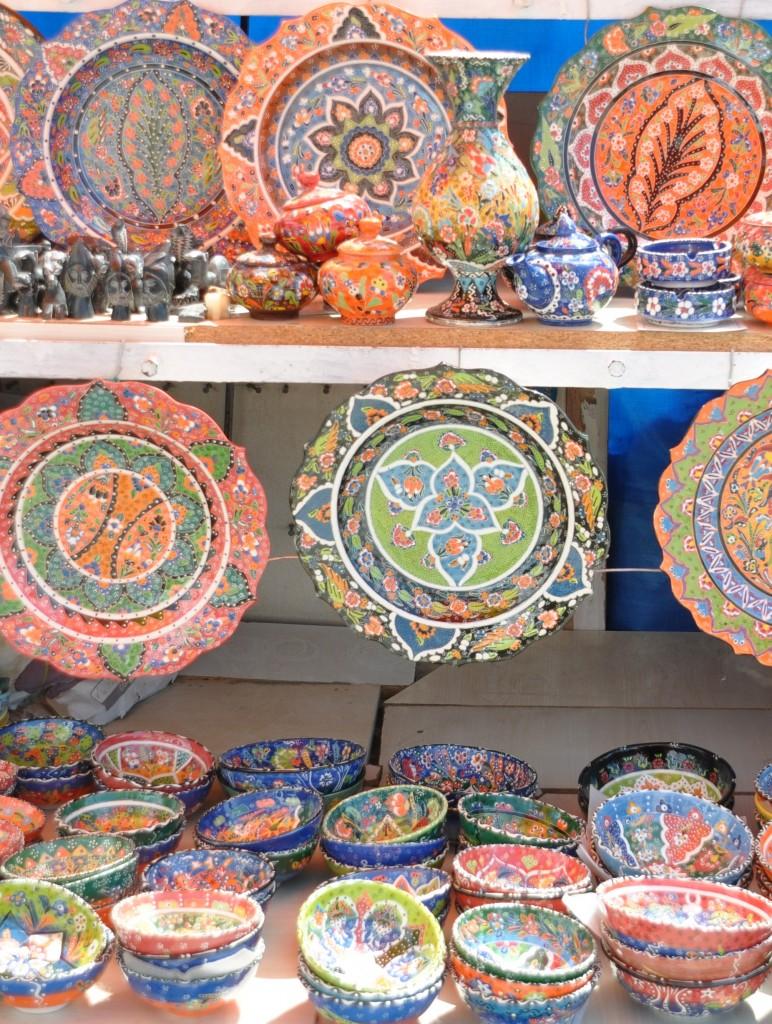 Tyrkisk keramik i Alanya