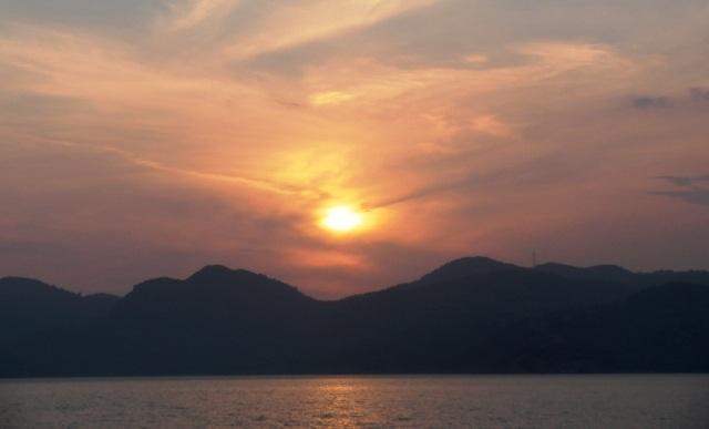 Ferie i Tyrkiet, udsigt over vandet