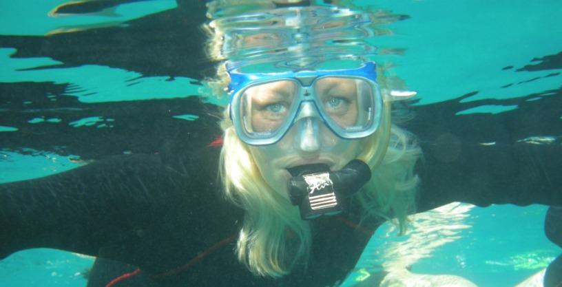 Snorkler i Eilat