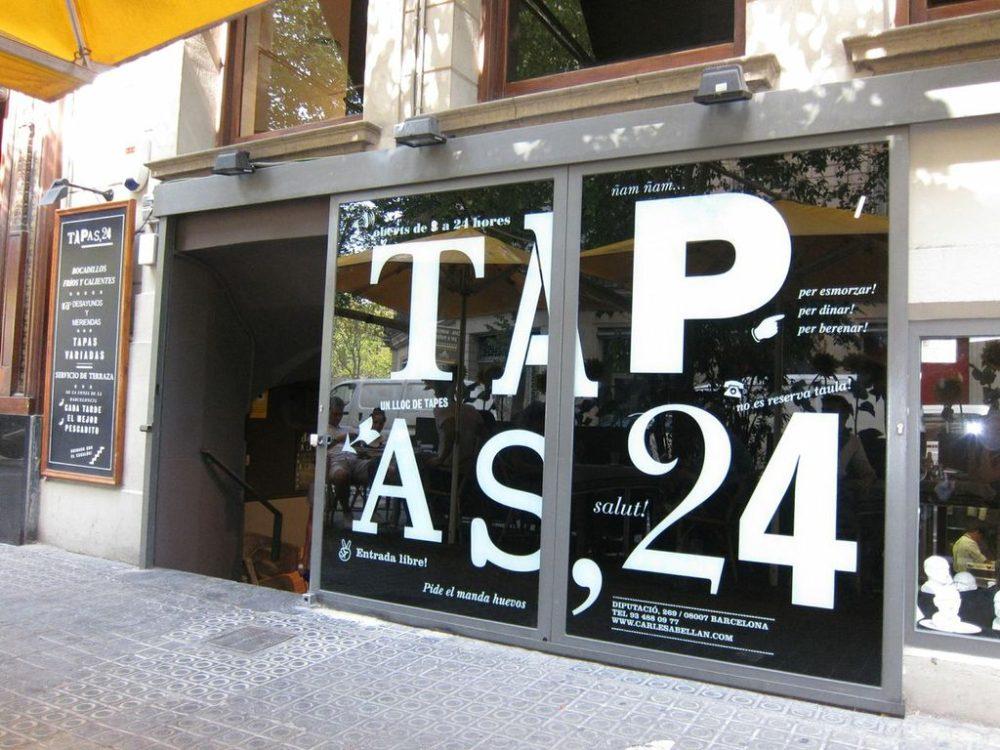 Spisesteder i Barcelona: Tapas 24