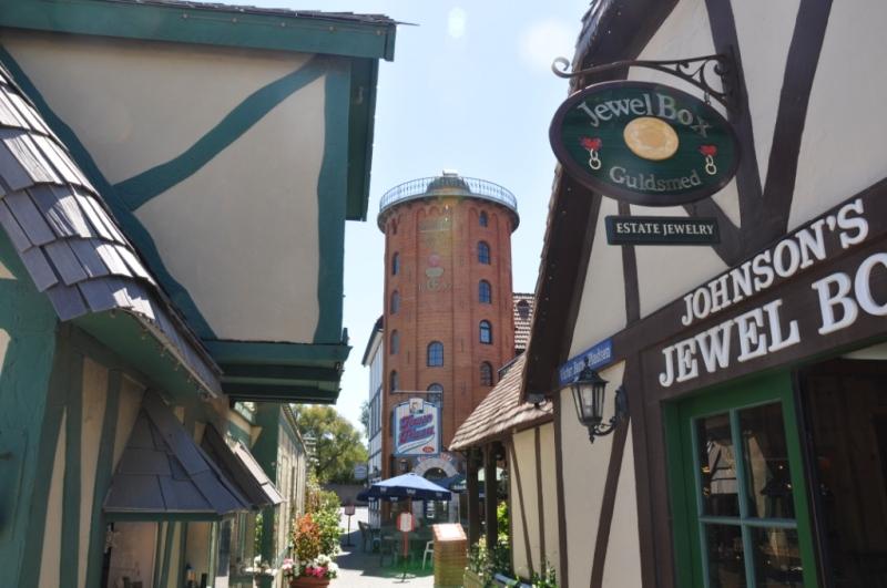 Rundetårn i Solvang.