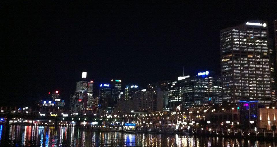 Foto: Bettina Brink. Darling Harbour i Sydney