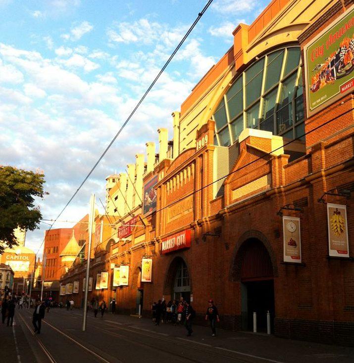 Foto: Bettina Brink. Paddys market i Sydney