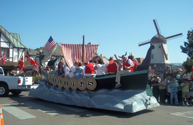 Parade til danske dage i Solvang
