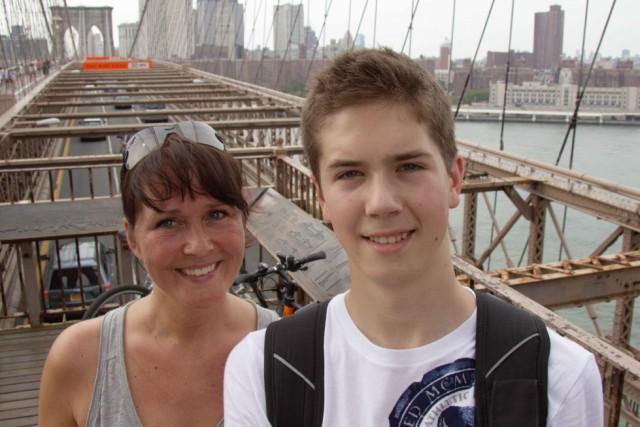 Bettina og Mikkel har prøvet boligbytte i New York