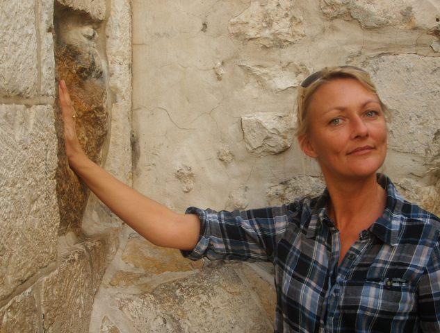 Her støttede Jesus sig efter sigende til muren på Via Dolorosa