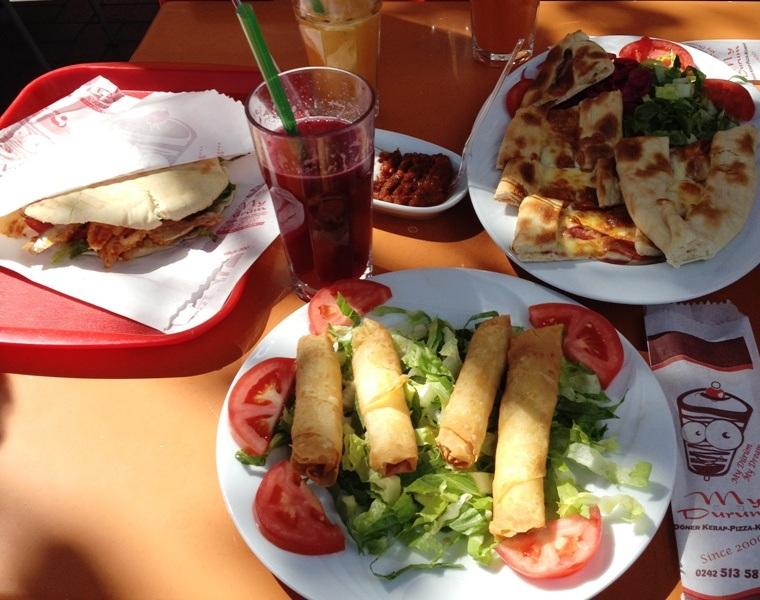 Gode spisesteder i Alanya: Dürüm