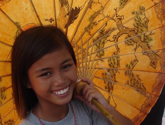 Foto af en thailandsk pige