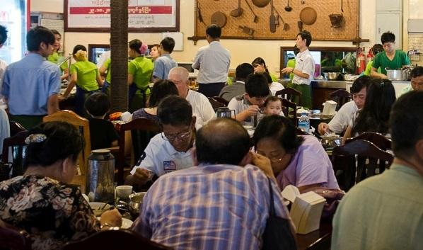 Feel Myanmar Food Yangoon.