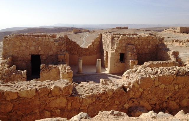Herodes palads... eller det, der er tilbage af paladset.