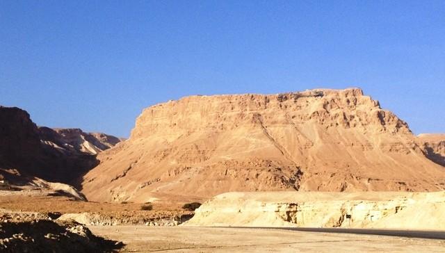 Masada set fra vejen
