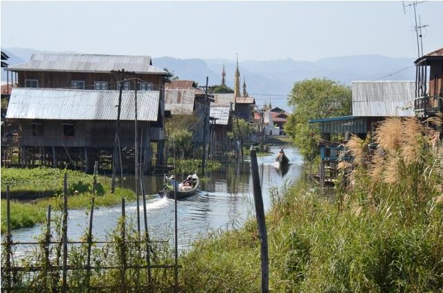 Myanmar flod