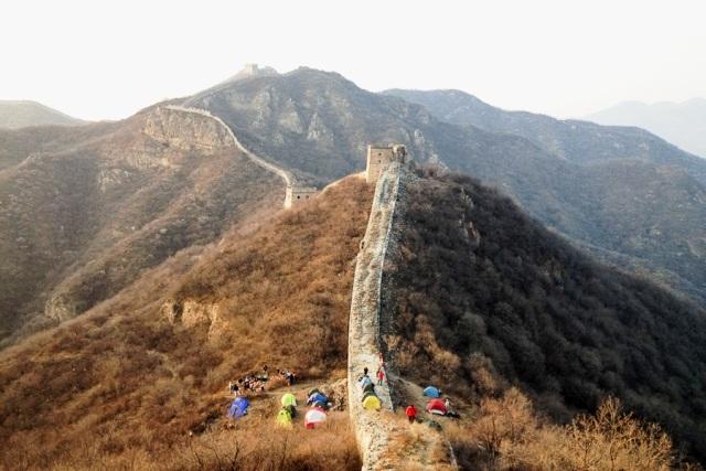Camping ved Den Kinesiske Mur