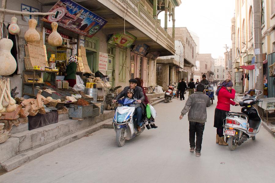 Wustanbowie, Kashgar