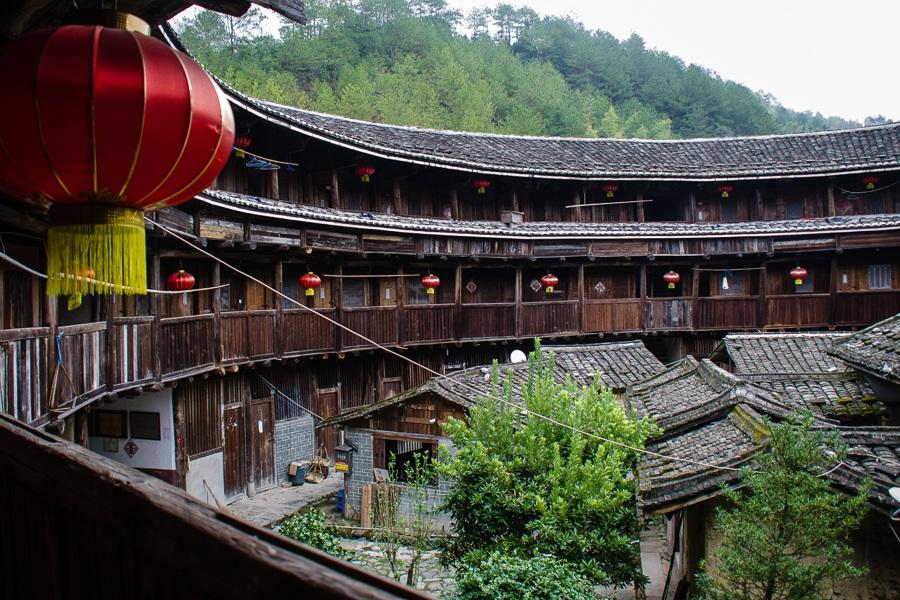 Attraktioner i Kina: Hakkahus