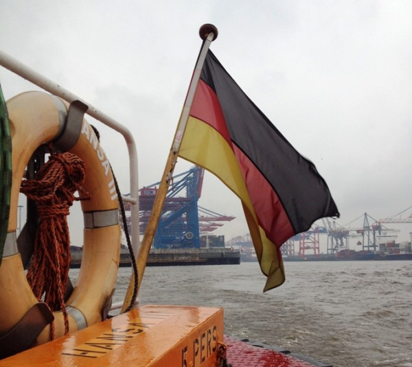 Hamborg Havn flag