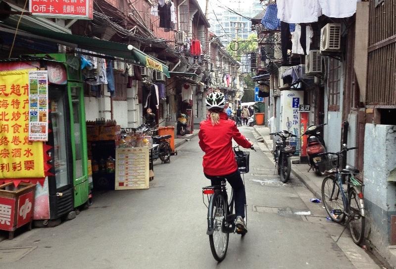 Tips til Shanghai: Cykeltur