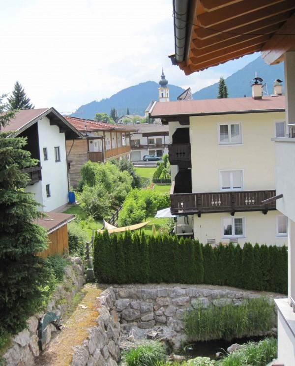 Hotel Gänsleit, udsigt fra det dejlige familiehotel i Østrig