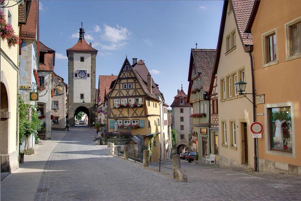 Rothenburg Tysklands populære sights