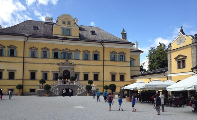 Hellbrunn Slot Salzburg