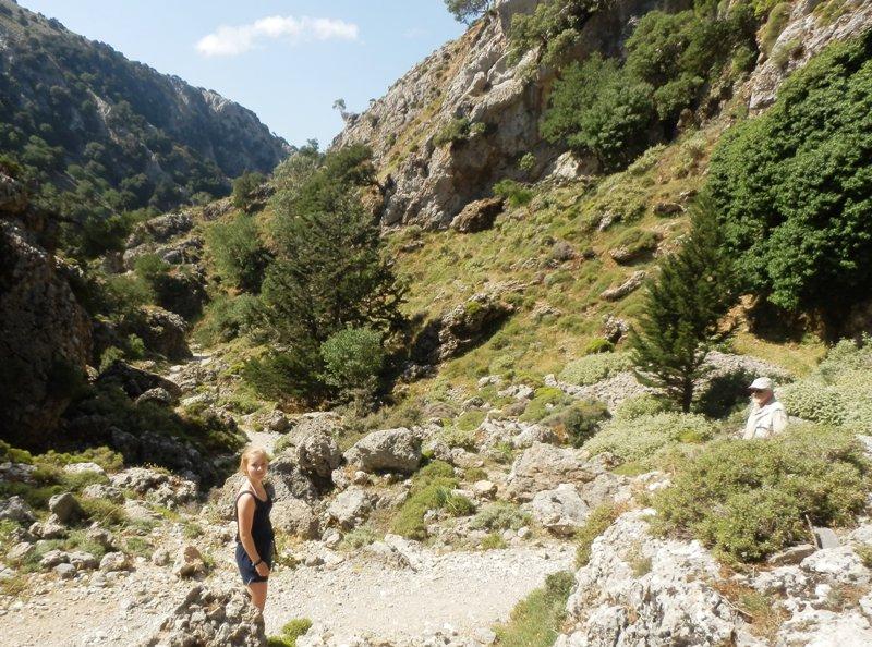 Imbros Kløften. Ferie på Kreta