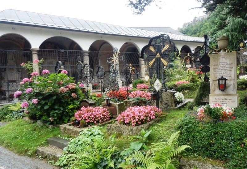Kirkegård fra Sound of Music
