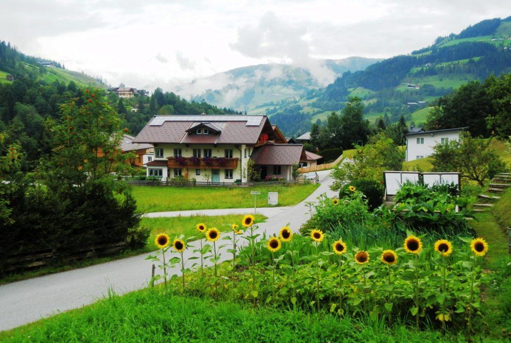Hus i Wagrain, Tyrol
