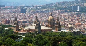 Montjuïc-bjerget Barcelona