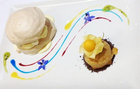 Dessert på Ecorkhotel i Portugal