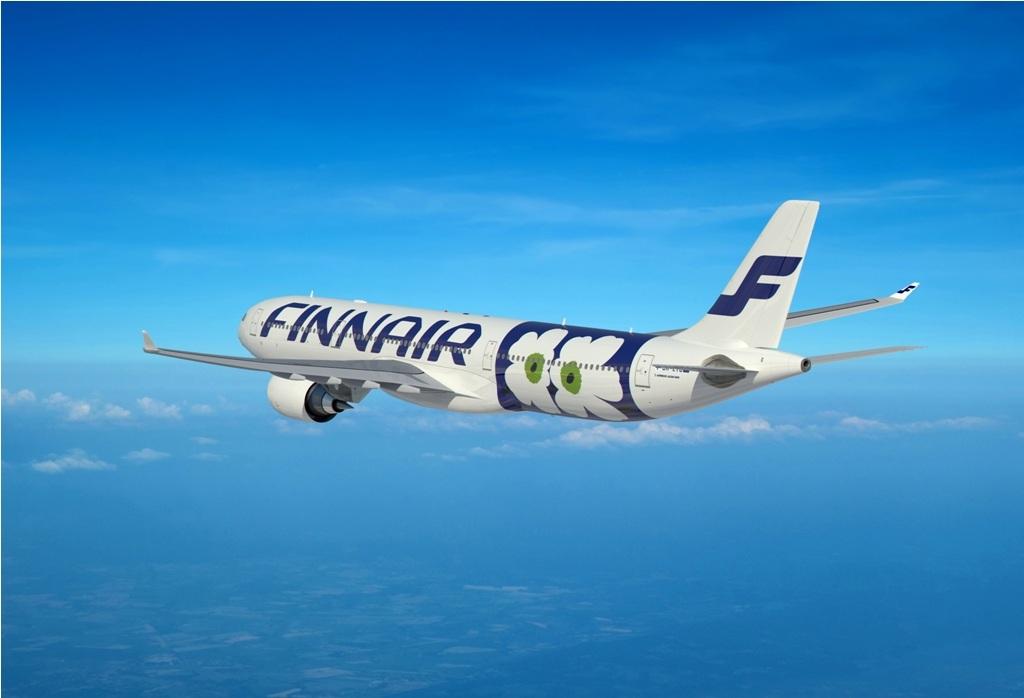 Finnair A330 Marimekko Unikko