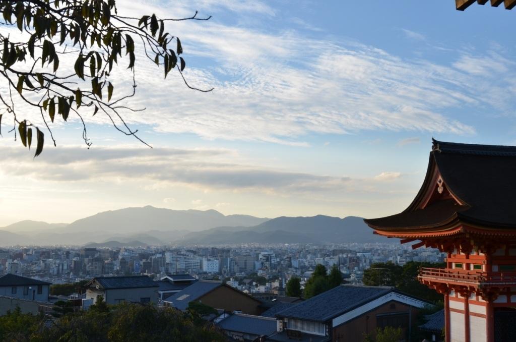 Rejseguide til kyoto - udsigt