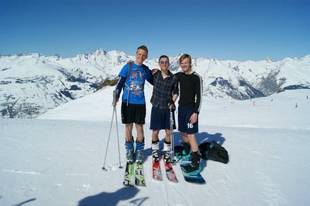 Sæson på ski