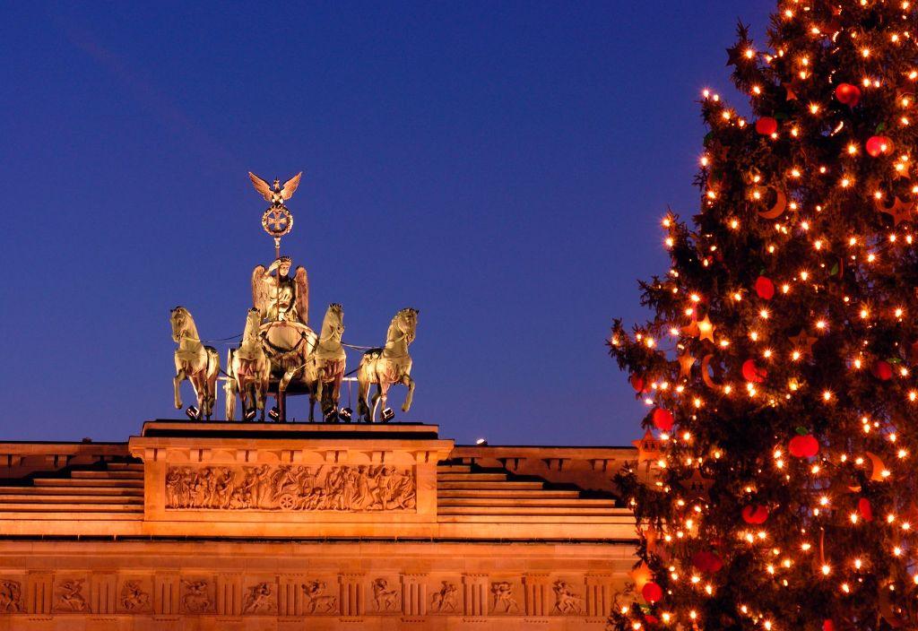 Jul i Berlin: Brandenburger Tor