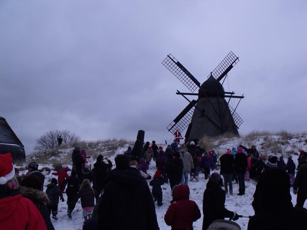 Skagen Mølle, en af de steder med julemarkeder i Nordjylland