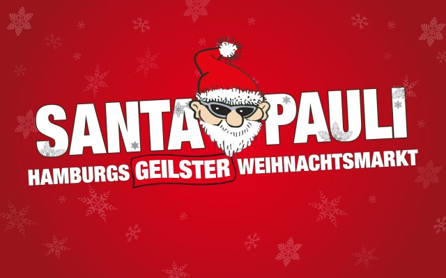 Logo for Santa Pauli Julemarked i Hamburg