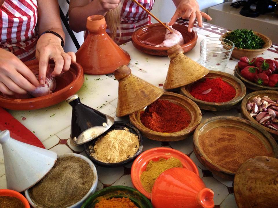 Madlavningskursus i Marrakech