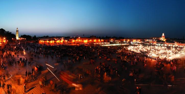 Marrakech marked