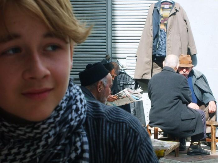 Marcus Seneca som turist i Istanbul