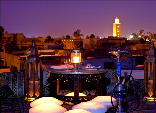 Restaurant_Roof Top Riad