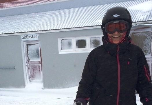 Karen Senecas første gang på skiferie