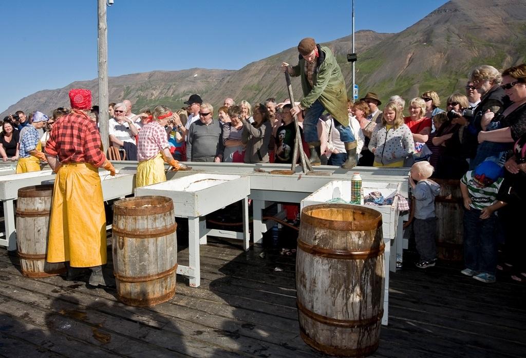 Síldarævintýrið at Siglufjörður