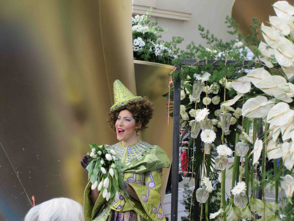Kvinde til karneval i Nice