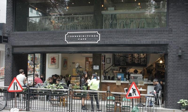 Corner i Hong Kong