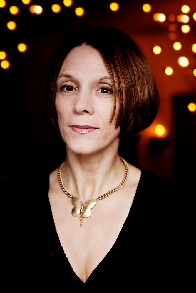 Journalist Annegrethe Felter Rasmussen, portræt