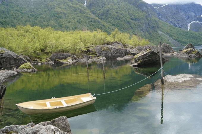 Norsk natur; Bondhusvatnet