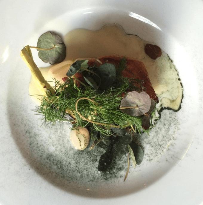 Måltid på restaurant Vespa i København