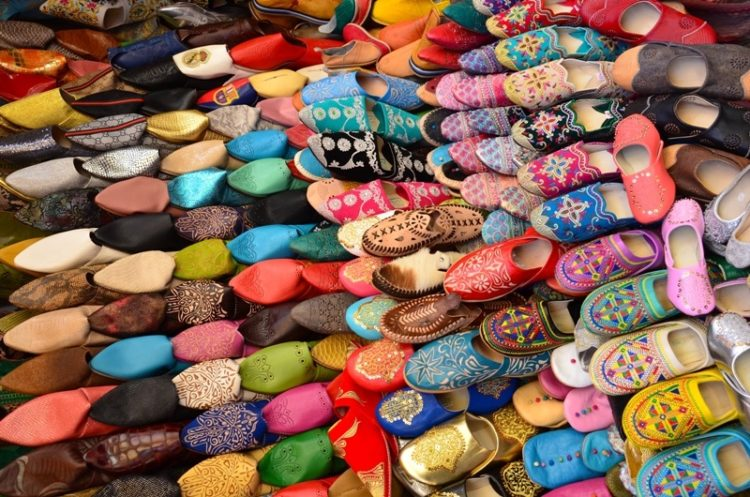 Snabelsko på markedet i Marokko