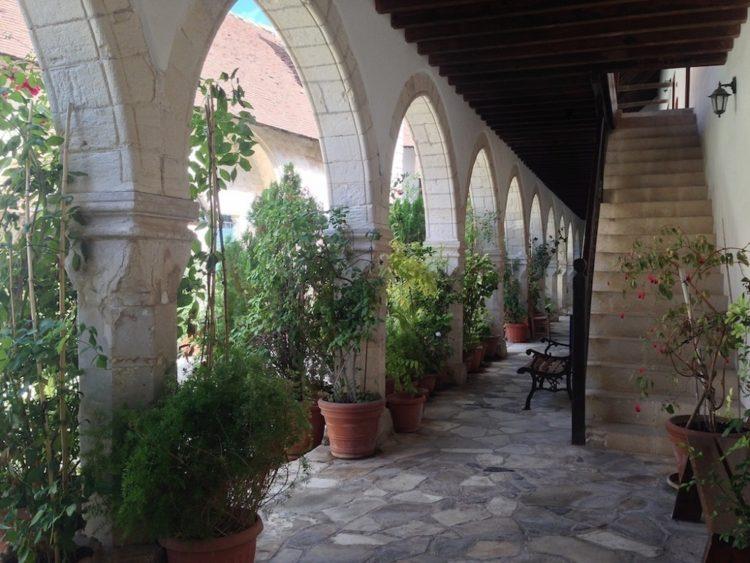 Klosterhave på Cypern