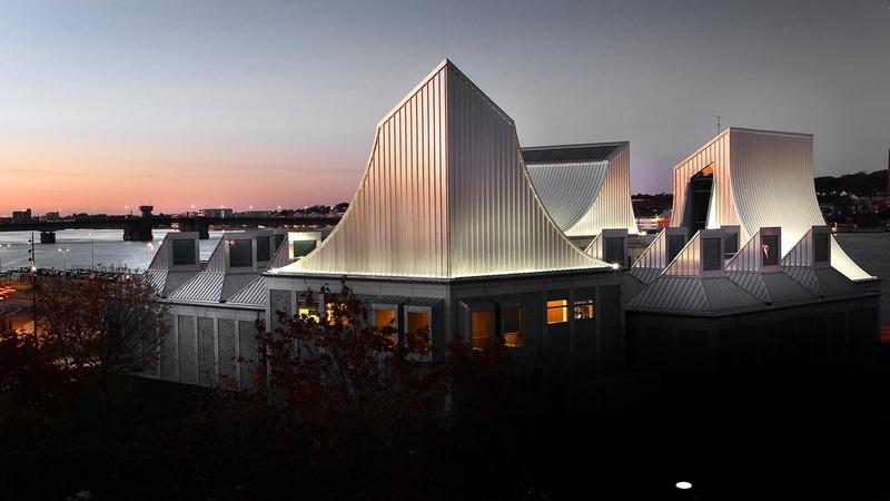 Utzon Center i Nordjyllands hovedstad Aalborg