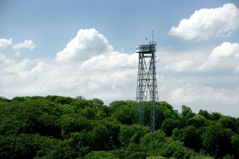Aalborg Tower i Nordjyllands hovedstad Aalborg